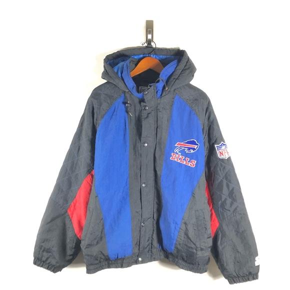 6ef51bb6 Buffalo Bills Starter Proline VTG Puffer Jacket
